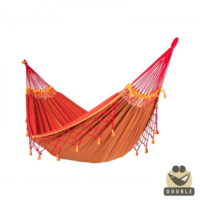 Double hammock copa furia roja by the hammocks store of americas - Hamacas dobles ...
