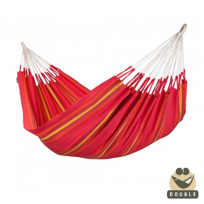 """Double Hammock"" Currambera Cherry - By the hammocks store of Americas"