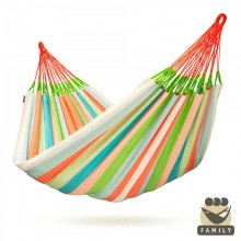 """Family hammock"" Domingo Coral - By the hammocks store of Americas"