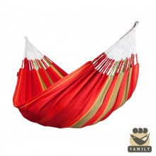 Family hammock Flora Chili - from your hammocks shop in USA