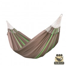 Family hammock Flora Chocolate - from your hammocks shop in USA