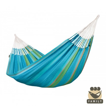"""Family hammock"" Flora Curaçao - By the hammocks store of Americas"