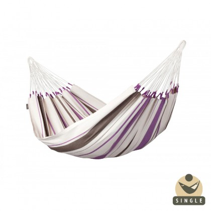 """Single hammock""  Caribeña Purple - By the hammocks store of Americas"
