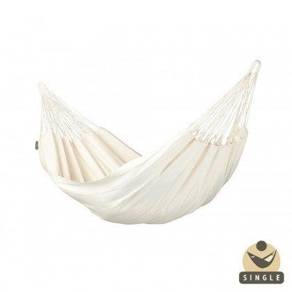 """Single hammock"" Modesta Latte - By the hammocks store of Americas"