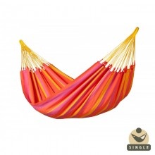 """Single hammock"" Sonrisa Mandarine - By the hammocks store of Americas"
