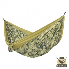 """Double hammock"" for travel Colibri CAMO Forest - By the hammocks store of Americas"