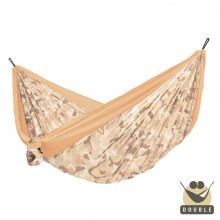 """Double hammock"" for travel Colibri CAMO Sahara - By the hammocks store of Americas"