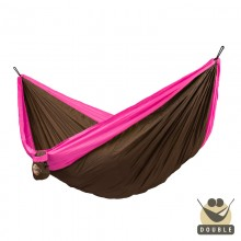 """Double hammock"" for travel Colibri Fuchsia - By the hammocks store of Americas"