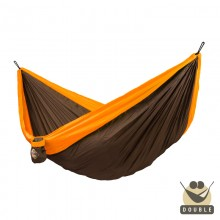 """Double hammock"" for travel Colibri Orange - By the hammocks store of Americas"