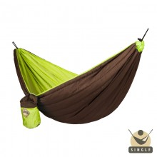 Single Padded Travel Hammock COLIBRI green - By the hammocks store of Americas