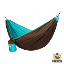 Single Padded Travel Hammock COLIBRI turquoise - By the hammocks store of Americas