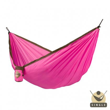 """Single hammock"" for travel Colibri Fuchsia - By the hammocks store of Americas"
