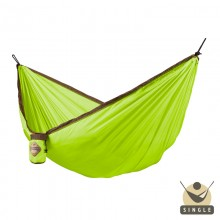 """Single hammock"" for travel Colibri Green - By the hammocks store of Americas"