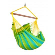 La Siesta Hammock Chair Basic ( Sonrisa Lime ) - from Hammocks of Americas