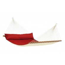 Hammock with spreader bars Kingsize Alabama Red-Pepper - from your hammocks shop in USA