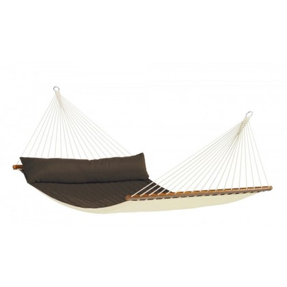 Hammock with spreader bars Kingsize Alabama Arabica - from your hammocks shop in USA