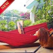 Single Hammock Tipica-Rojo - from Hammocks of Americas