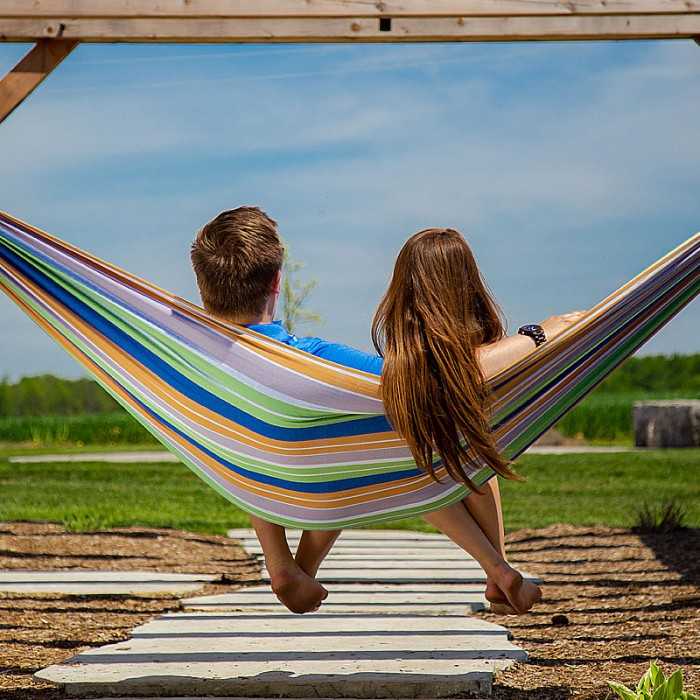 Vivere Double Hammock Retro From Hammocks Of Americas
