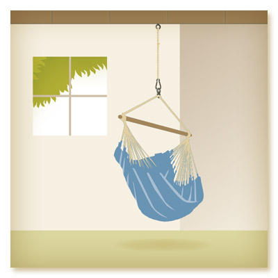 Suspension of a Hammock Chair